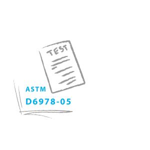 ASTM D6978-05  - standardisierte Prüf- und Analyseverfahren