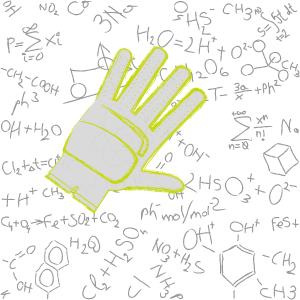 Handschuhe zum Schutz vor aggressiven Substanzen wie Chemikalien