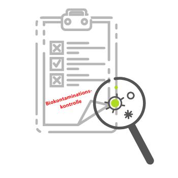 Richtlinie als Leitfaden zur Biokontaminationskontrolle