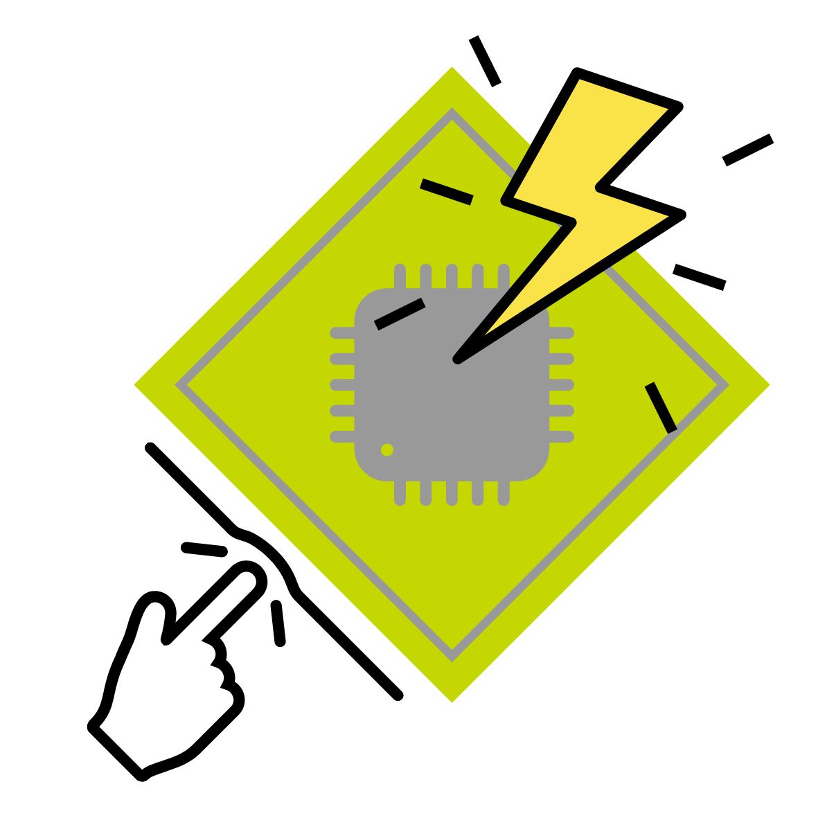 Electrostatic discharge - elektrostatische Entladung