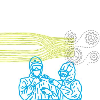 Auch bekannt als Textilfaser, Endlosfaser oder Filamentgarn (Chemiefaser)