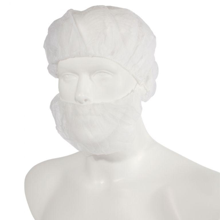 Bartschutz 10-12 g/m² PP, extra-breit