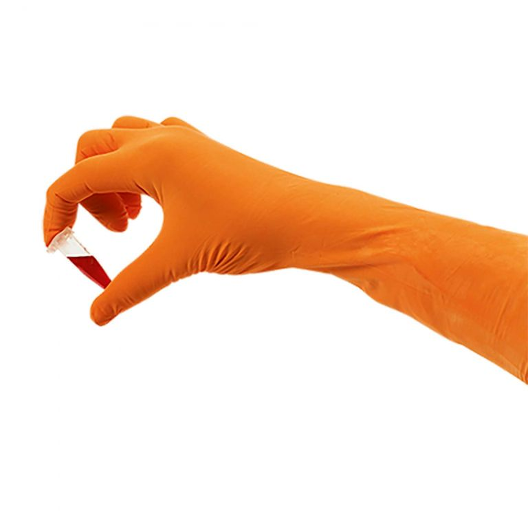 SHIELDskin Xtreme Orange NITRILE 300 DI - 696453 von Shield Scientific