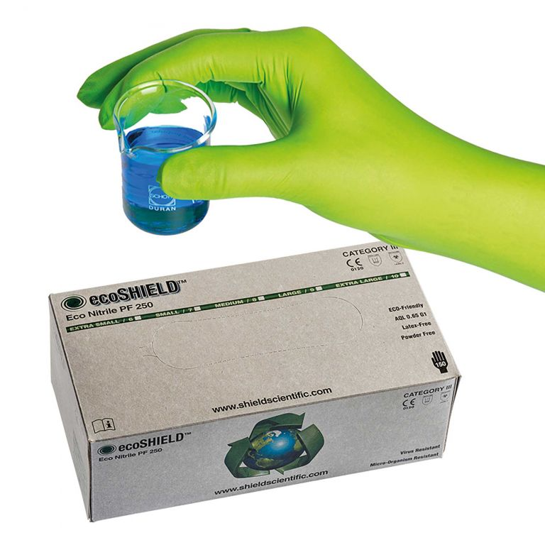 ecoSHIELD Eco Nitrile PF 250 - 625123 von Shield Scientific