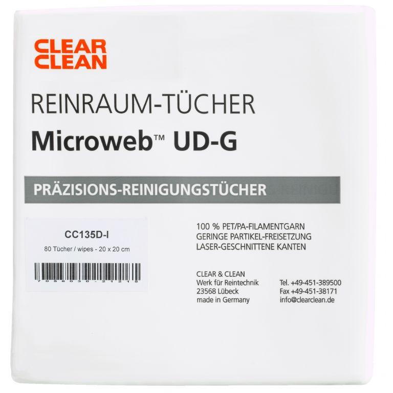 Tuch Microweb UD-G - CC134 von Clear & Clean