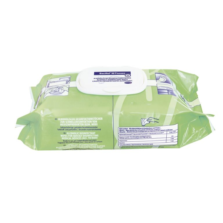 Tuch Bacillol 30 Tissues - 981312 von Hartmann BODE Chemie