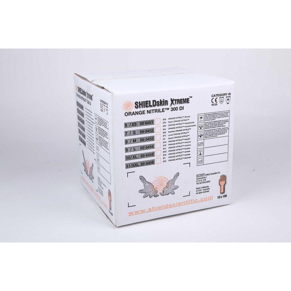 SHIELDskin Xtreme Orange NITRILE 300 DI - 696453 von Shield Scientific