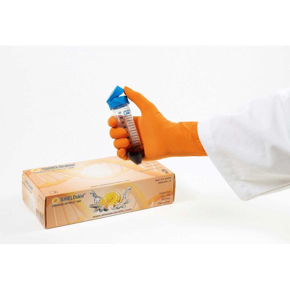 SHIELDskin Orange Nitrile 260 - 676233 von Shield Scientific