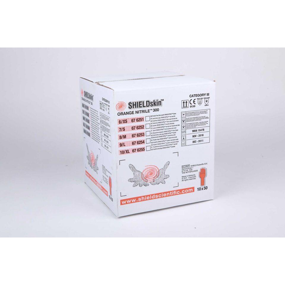 SHIELDskin Orange Nitrile 300 - 676253 von Shield Scientific