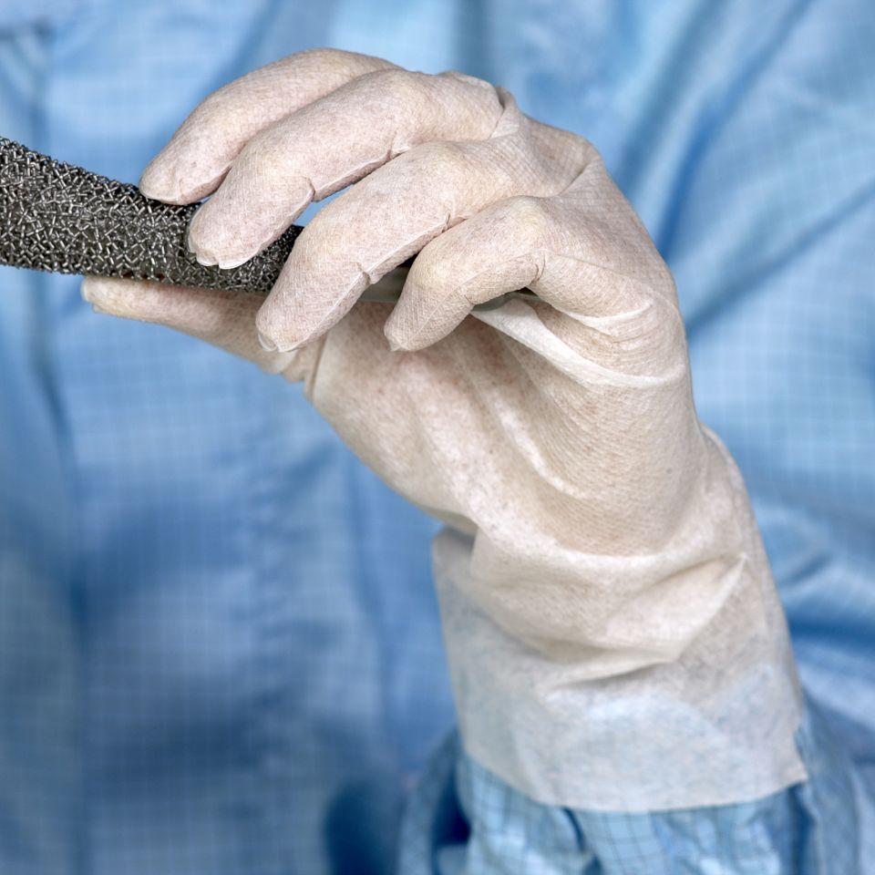 Polyurethan-Vlieshandschuh Stretchbond - CC 332 von Clear & Clean