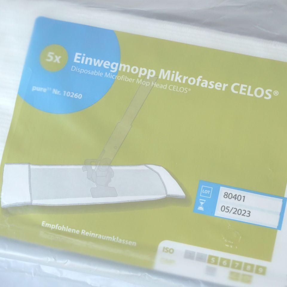 Einweg-Mopp Mikrofaser CELOS