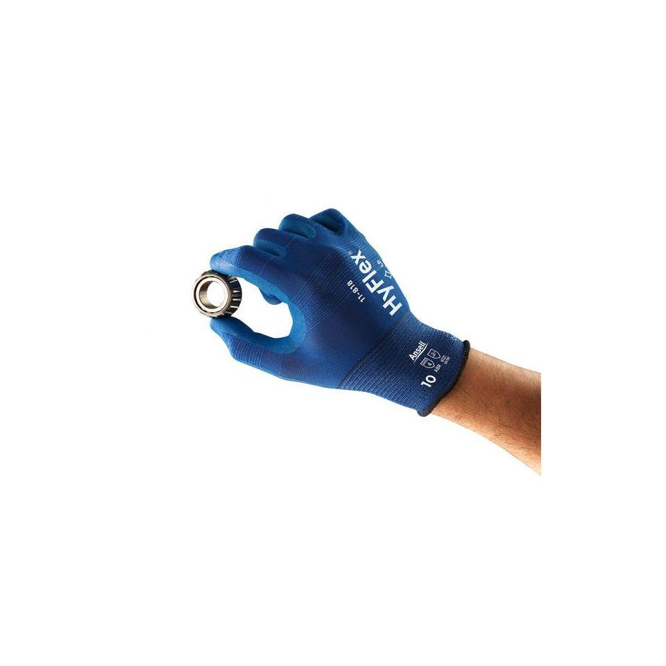Nylonhandschuhe HyFlex 11-818 - 11-818 von Ansell